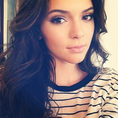 Kendall's makeup. soooo pretty & natural <3