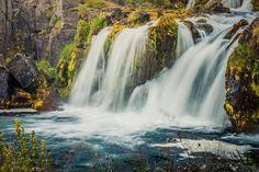 Marco Gianstefani Dynjandi Waterfalls at sunrise, Iceland #MimWaterfalls