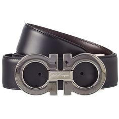 Salvatore Ferragamo Reversible Leather Belt ($399) ❤ liked on Polyvore featuring men's fashion, men's accessories, men's belts, black, salvatore ferragamo mens belt, men's reversible belt, mens real leather belts, mens leather accessories and mens wide leather belts - Sale! Up to 75% OFF! Shop at Stylizio for women's and men's designer handbags, luxury sunglasses, watches, jewelry, purses, wallets, clothes, underwear