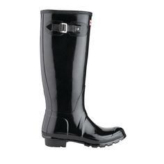 7731c700516d Hunter Women s Original Gloss Tall Boot Black Hunter Boots