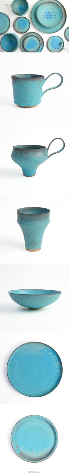 makiko suzuki, never thought i'd like this sort of handle to cup proportion, but these are stunning