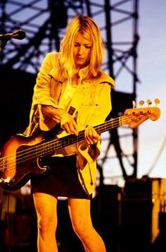Kim Gordon / Sonic Youth 1995 / Lollapalooza 2011 - 20th Anniversary Time Capsule