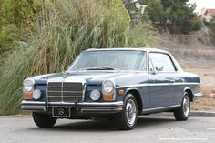 1972 Mercedes-Benz 250C Coupe by Classic Showcase