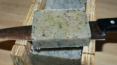 DIY Natural Soap - Coffee Kitchen Soap Recipe - Craft your own natural kitchen soap made with real coffee beans to neutralize odors!