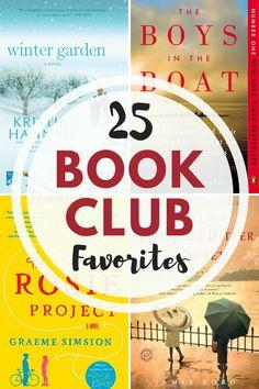 Favorite Book Club Picks 25 Book Club Favorites ~ suggested from book club members! 25 Book Club Favorites ~ suggested from book club members! Book Club Suggestions, Book Club Recommendations, Book Club List, Best Book Club Books, Book Club Reads, Best Books To Read, Book Lists, Good Books, My Books