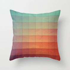 When a sunrise begins, the sky gradually warms up. The effect on light inspired the Sunrise Gradient Pillow. Made of 100 percent polyester poplin, each double-sided pillow has been individually cut and...  Find the Sunrise Gradient Pillow, as seen in the The Artist's Retreat Collection at http://dotandbo.com/collections/the-artists-retreat?utm_source=pinterest&utm_medium=organic&db_sku=MBW0075
