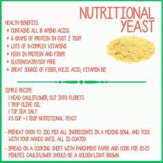 Health Benefits of Nutritional Yeast