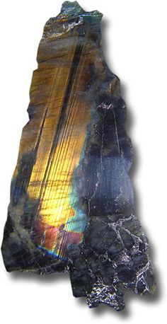 Spectrolite Rough from Finland (stone, gemstone, mineral, rock)