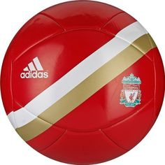 Liverpool Football Club Soccer Ball by adidas. $18.70. Main Material: 100% thermoplastic polyurethane.. This item will ship deflated to save on shipping costs.. Matches to adidas footwear, shin guards, & socks.. Gear by adidas