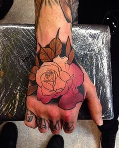 ontattoos Page 2 : Rose Tattoo Ideas. Neo Traditional Realist ...