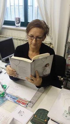 Marina Biglia, lettrice e presidente di associazione...