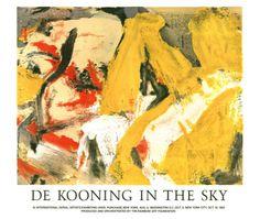 In the Sky Print by Willem de Kooning at Art.com