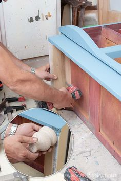 Adding Furniture Legs Onto A Painted Dresser Salvaged Furniture, Furniture Legs, White Furniture, Furniture Makeover, Cool Furniture, Painted Furniture, Furniture Stores, Happy Paintings, Cool Paintings