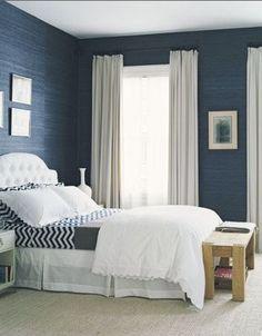 Colori pareti della camera da letto - Camera da letto azzurra e ...