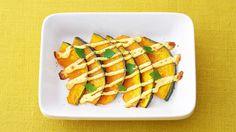 公式サイト。卵のコクがUP!した、キユーピーハーフでつくる「かぼちゃのシンプルマヨグラタン」のレシピをご紹介。