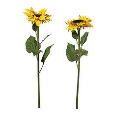 Sunflower - $3.99 Vases, bowls & flowers - Artificial flowers - IKEA