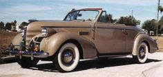 1939 Pontiac Convertible