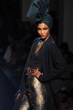 Jean Paul Gaultier, Haute Couture Fall/Winter 2010.