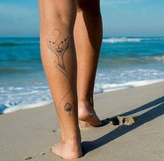 beach anklet tattoos for women Anklet Tattoos, Foot Tattoos, Body Art Tattoos, Girl Tattoos, Small Tattoos, Sleeve Tattoos, Tatoos, Trendy Tattoos, Cute Tattoos