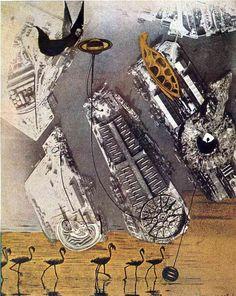 Cormorants, Max Ernst, 1920