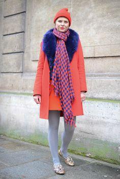 Paris Street Style: Haute Couture Spring 2015  - ELLE.com