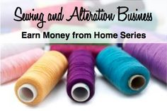 Create your own sewing and alteration business from home. This post gives you a plan to get started.