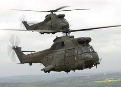 Super Puma RAF