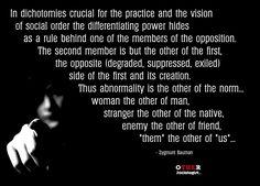 Zygmunt Bauman on Otherness
