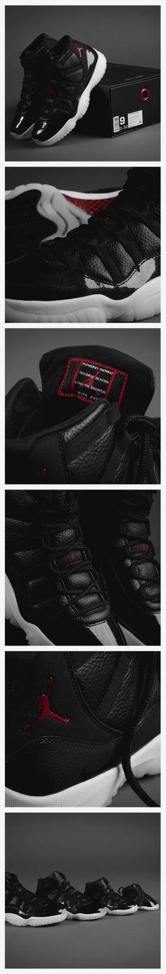 5658a89bf8a Classical Nike Air Jordan XI 72-10   Nike Jordan 11