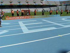 Track of Stadium LLuis Companys - Barcelona
