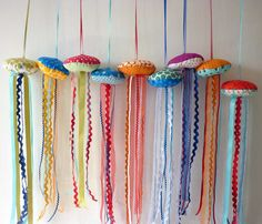 cute jellyfish - possible valence or kids toy closet door