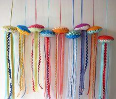 Lavender jellyfish  -  Kirsty Elson Designs