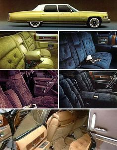 1976 Cadillac Fleetwood options.