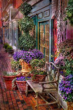 lindas cores é a minha varanda perfeita