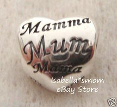 and Blue 925 Sterling Silver Bead NEONBLOND Custom Charm Im The Mom Thats Why Mothers Day Classic Red White