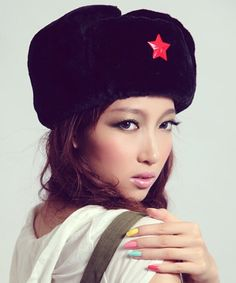Lei feng cap Vintage Men Women Winter warm hat Ushanka Russian Casquette Bomber Hats Red Army