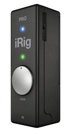 With an IK Multimedia iRig PRO you can comfortably stick a phantom-powered microphone preamp a MIDI interface and a 24-bit...