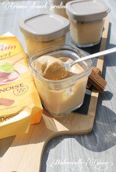 Crème façon Mont Blanc à la pralinoise à la Multi Délice Seb