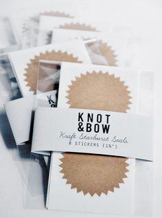 Knot&Bow - Coton de Bois