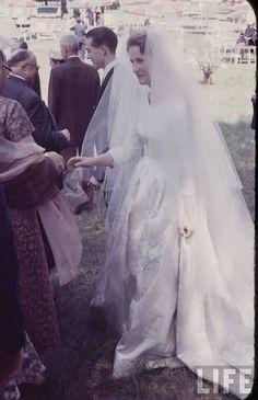 5.07.1957 : mariage du prince Henri d'Orléans et de la duchesse Marie-Thérèse de Wurtemberg