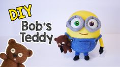 I received many requests for a Minion Bob's Teddy Bear tutorial ever since I posted out my Minion Bob Socks Plush video (https://www.youtube.com/watch?v=xrrq...