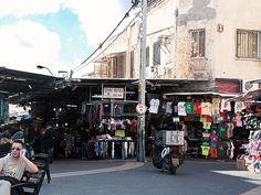 Tel Aviv, Israel - Public Spaces, Carmel Market (Shuk HaCarmel) (שוק הכרמל), Allenby Street and Magen David Square (תל אביב, ישראל)