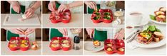 Egy finom Muffinformában sült tojás reggelire ebédre vagy vacsorára? Muffinformában sült tojás reggelire Receptek a Mindmegette.hu Recept gyűjteményében! Penne, Plastic Cutting Board, Mexican, Oven, Ethnic Recipes, Bacon Ei, Food, Essen, Ovens