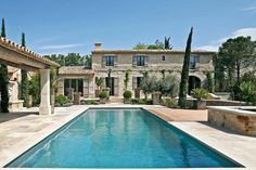 Luxury Property in Maussane-les-Alpilles € for sale Luxury Property in Maussane-les-Alpilles € for sale Italian Villa, Mediterranean Homes, Tuscan Style, French Country House, Stone Houses, Pool Houses, House Goals, Patio, Mansions