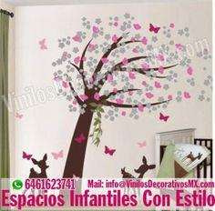 vinilos infantiles de Arboles  http://comoorganizarlacasa.com/vinilos-decorativos-infantiles/ Vinilos Decorativos Infantiles #vinilosdecorativos #IdeasParaOrganizar #IdeasDeDecoracion