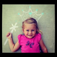 Chalk Crown and Wand for pictures