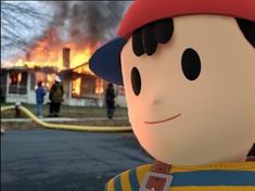 What Happens When Ness is Grounded <---One does not simply mess with Ness #VideoGameShelf Star Citizen, Super Smash Bros, Video Game Shelf, Mother Games, Pokemon, Otaku, Cartoon As Anime, Nintendo Characters, Gaming Memes