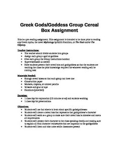 write an informative essay on a greek mythical character