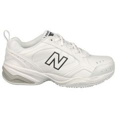 New Balance Women's 624 Medium/Wide Training Shoes (White) - 6.5 D