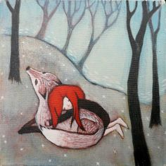 lucy campbell art | Lucy Campbell paintings | Original art, modern fairytale paintings